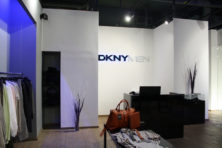 obchod DKNY – Palladium | 2013